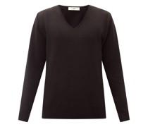 Linus V-neck Pima-cotton Sweater