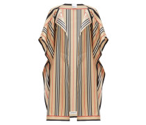 Nova-striped Silk-twill Cape
