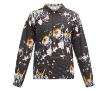 Futura-print Cotton-canvas Jacket