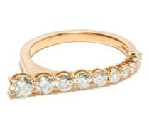 Aria Diamond & 18kt Rose-gold Ring
