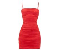 Ruched Silk-chiffon Dress