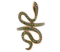 Slither Snake Diamond & 18kt Gold Ring