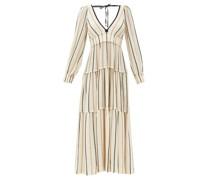 Theodora Striped Cotton-blend Cheesecloth Dress