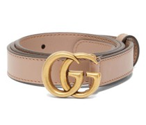 Gg-logo Leather Belt
