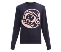 Astro Embroidered Cotton-jersey Sweatshirt