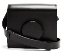 Leather Cross-body Camera Bag