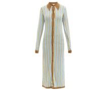 Keshia Zigzag-knitted Maxi Dress