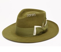 Azteca Felt Fedora Hat
