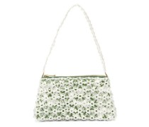 Dawson Floral-beaded And Faux-pearl Bag