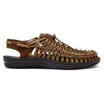 Uneek Drawstring Leather Sandals