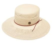 Kendall Logo-ribbon Faux-straw Hat