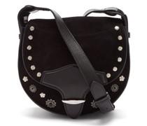 Botsy Suede Cross-body Bag