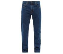 Gritty Jackson Organic-cotton Straight-leg Jeans