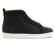 Louis P Strass Ii High-top Canvas Trainers