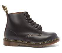 101 Lace-up Leather Ankle Boots