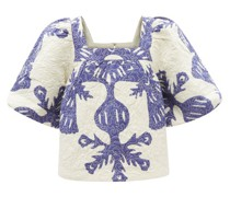 Henrietta Quilted Cotton Top