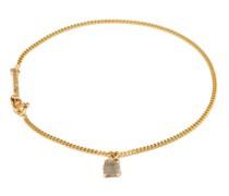 Spliced Raw-diamond & 14kt Gold Bracelet