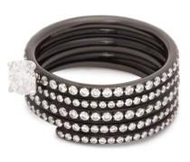 Blast 18kt Black-gold & Diamond Ring