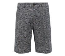 Judo Fan-print Organic-cotton Shorts