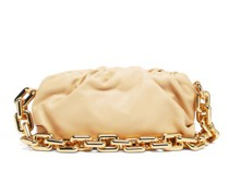 The Chain Pouch Leather Clutch Bag