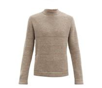 Striped Alpaca Sweater