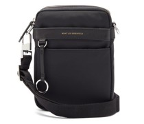 Reagan Leather-trimmed Cross-body Bag