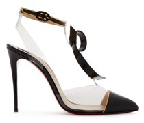 Alta Firma 100 Leather And Perspex Pumps