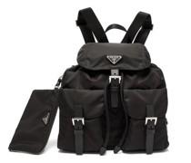 Triangle Logo-plaque Large Nylon Backpack