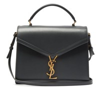 Cassandra Medium Ysl Leather Cross-body Bag