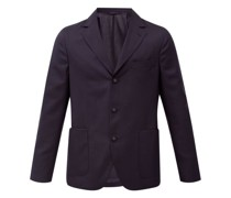 Armie Single-breasted Wool-fresco Suit Jacket