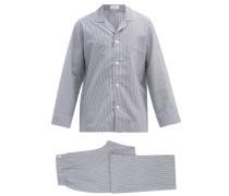 Zephirlino Striped Cotton Pyjamas