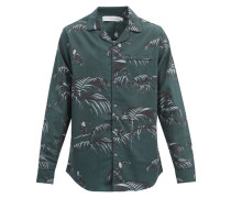 Bocas-print Cotton Pyjama Shirt