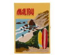 Malibu Embroidered Box Clutch