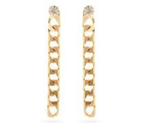 Garcon Crystal-stud Drop Earrings