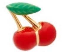 Cherry 14kt Gold Single Stud Earring