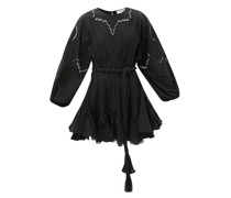 Ella Broderie-anglaise Cotton Dress
