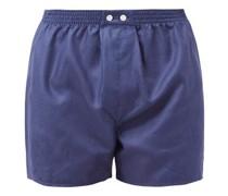 Lombard Logo-jacquard Cotton Boxer Shorts