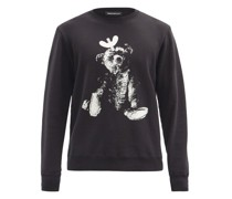 Toy-print Cotton-jersey Sweater
