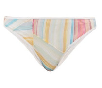 Rainbow-stripe Bikini Briefs