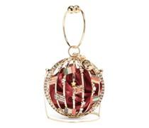 Alice Mondo Mini Crystal And Satin Clutch Bag