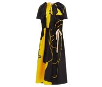 Mccardell Abstract-print Satin Midi Dress