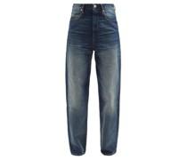 Corsysr High-rise Tapered-leg Jeans