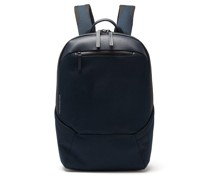 Explorer Apex Grained-leather Backpack