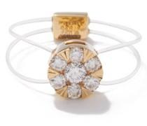Diamond & 18kt Gold Ring