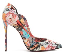 Hot Chick 100 Printed-leather Pumps