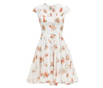 Nerissa Floral-print Cotton Mini Dress