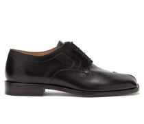 Tabi Split-toe Leather Derby Shoes