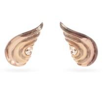 Gleam Morganite & 18kt Rose-gold Clip Earrings