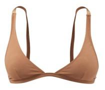 Recycled-fibre Triangle Bikini Top