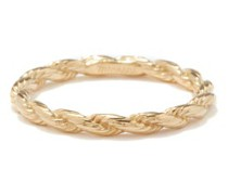 Rope Gold-vermeil Ring